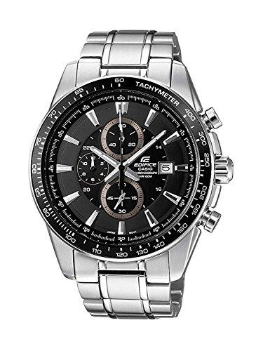 Casio Orologio Cronografo Quarzo Uomo con Cinturino in Solido Acciaio Inossidabile EF-547D-1A1VEF