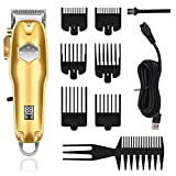 Kemei Professional Hair Clippers Mens Cordless Hair Trimmer with LED Display Haircut Grooming Kit for Barbershop&Home