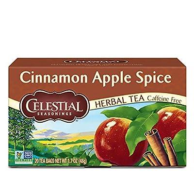 Celestial Seasonings Herbal Tea, Cinnamon Apple Spice, 20 Count (Pack of 6) from Celestial Seasonings