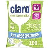 Claro Classic XXL - 100 Tablettes Pour Lave-Vaisselle Écologiques Sans Phosphates En...