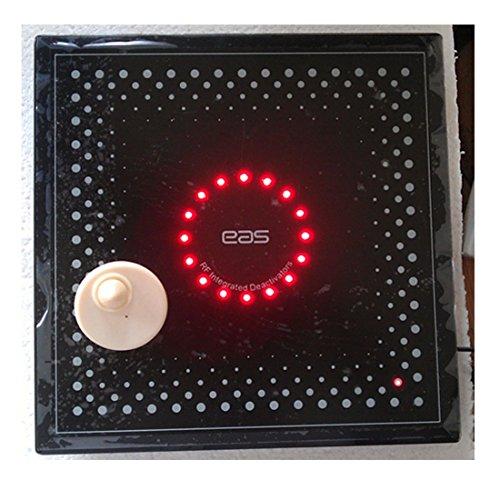 Desactivador de etiquetas para el sistema RF8.2Mhz eas, desactivador compatible con etiqueta de punto de control con alarma sonora y luminosa