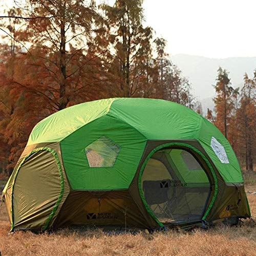 Outdoor Equipment For Camping And Camping 3-4 people green