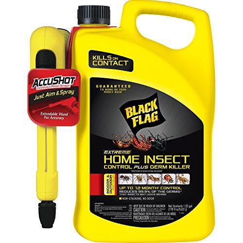 Black Flag Extreme Home Insect Control + Germ Killer (AccuShot Sprayer) 1.33-Gallon