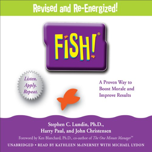 Fish! audiobook cover art