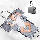 FORSTART 3 in 1 Portable Baby Travel Crib,Infant Travel Tote...