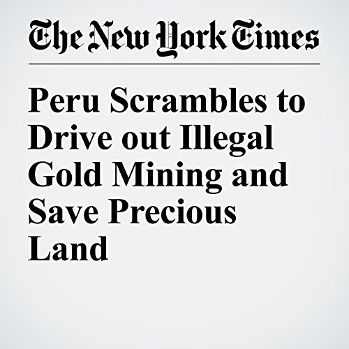 Peru Scrambles to Drive out Illegal Gold Mining and Save Precious Land cover art