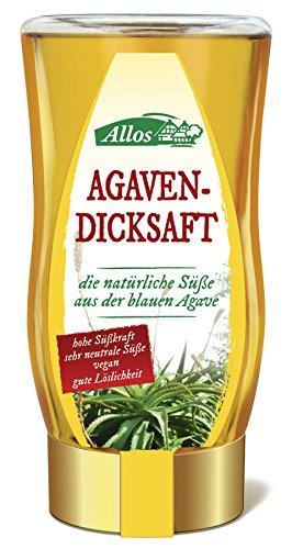Bio Allos - Jabón de agavendick en dispensador, 6 unidades (250 ml)