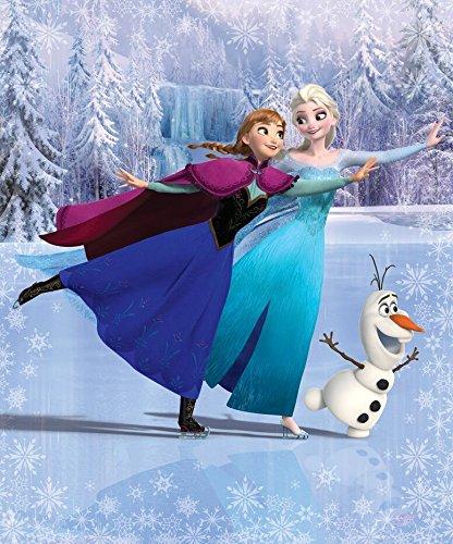 Eiskönigin Tapete 343x203 cm Fototapete Wandbild Kindertapete Disney Frozen Elsa