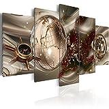 murando Cuadro en Lienzo Abstracto 100x50 cm Impresión de 5 Piezas Material Tejido...