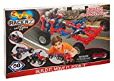 ZOOBMobile Car Designer Moving Mind-Building Modeling System, Assorted Colors, 76-Pieces