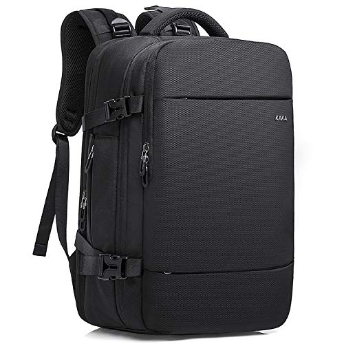 KAKA Travel Backpack, Carry on Bag Fit for 15.6'' laptop Flight Approved with Shoes Compartment (Mediun)