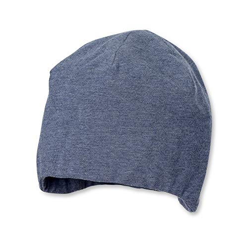 Sterntaler Mütze für Mädchen und Jungen, Alter: 4 Monate, Größe: 39, Farbe: Jeans mel., Art.-Nr.: 4001910
