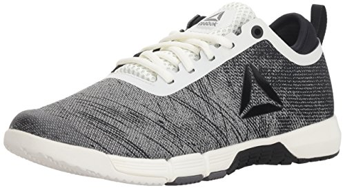 Reebok Women's Speed Her TR Cross Trainer, Chalk/Black/ash Grey, 7 M US