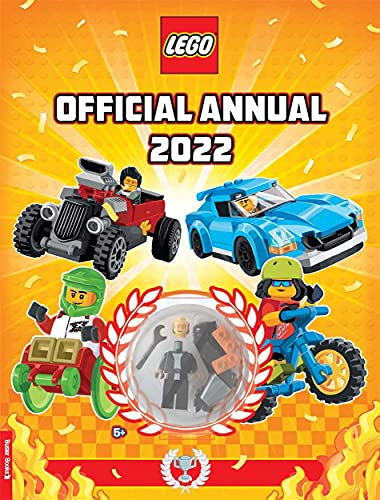LEGO®: Official Annual 2022 (with minifigure)