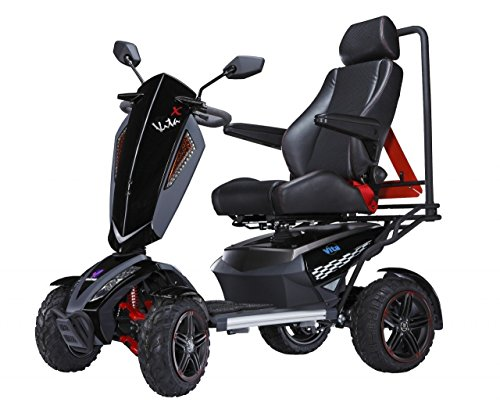 Review Of MONSTER 2016 S12X Vita Monster Electric 4 Wheel Power Scooter