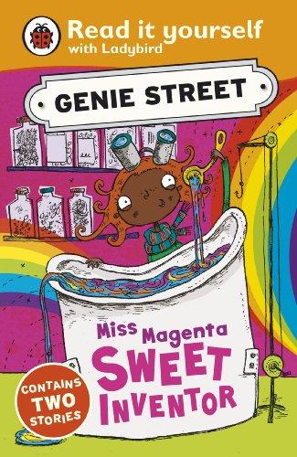 Miss Magenta, Sweet Inventor: Genie Street: Ladybird Read it yourself (English Edition)