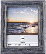إطار صورة خشبي أزرق مختار من داريس، 20.32 سم × 25.4 سم