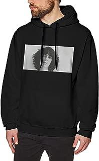 Male Patti Smith Elegant Hoodie Black