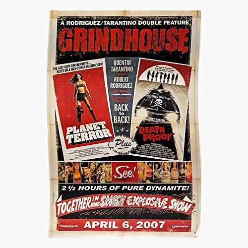 tuqpei Death Django Unchained Tarantino Inglourious Quentin Grindhouse Planet Proof Terror Basterds Home Decor Wandkunst drucken Poster !