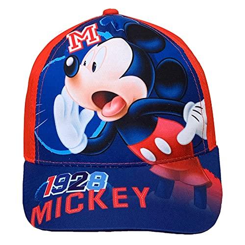 Generico Cappello Mickey Mouse Disney Topolino con Visiera Estivo Maschietto TG 52/54 - MIC2122-1670/R
