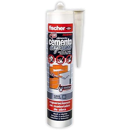 fischer Cemento Express Gris Oscuro (Cartucho de 310 ml), 512348