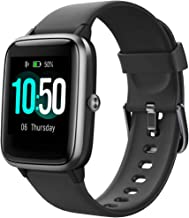 YAMAY Smart Watch Fitness Tracker Watches for Men Women, Fitness Watch Heart Rate Monitor IP68 Waterproof Digital Watch wi...