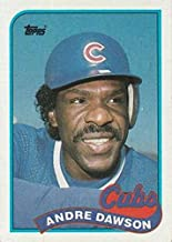 Baseball MLB 1989 Topps #10 Andre Dawson Cubs