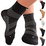 TechWare Pro Ankle Brace Compression Socks - Plantar Fasciitis Sock...