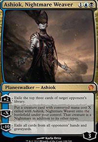 Magic The Gathering - Ashiok, Nightmare Weaver (188/249) - Theros - Foil