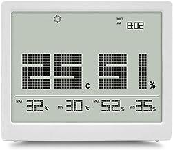 NA YAJJA De Interior del higrómetro del termómetro de Alta precisión Termómetro Electrónico Digital Termómetro de precisión Fina Pantalla del Escritorio (Color : B)