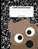 Hilarious Poop Man Composition Notebook: 200+ Pages, College Rule, Great for School, as a Notebook, Diary, or Journal