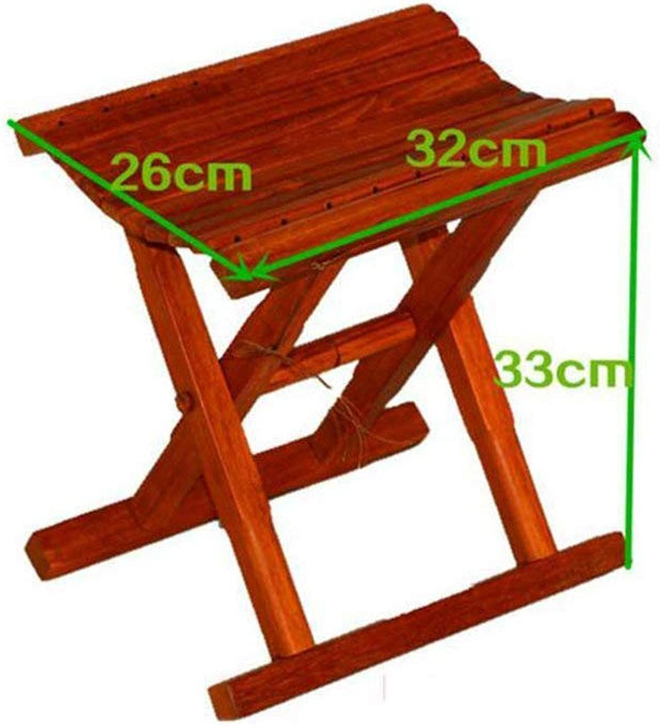 XHHWZB Step Stool - Wood Folding Kids & Adults Kitchen Portable Wooden Small Foot Stool Footstool shoes Bench