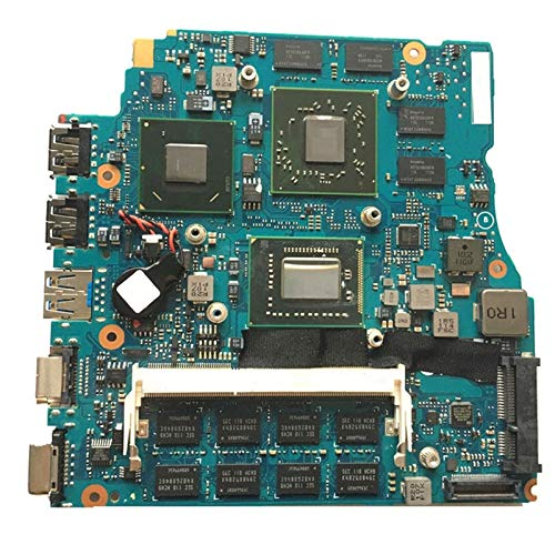 Tablero de reemplazo de computadora Cuaderno Placa Principal De 13.3 Pulgadas Fit For Sony VPCSB1AGX VPCSB Placa Base Portátil MBX-237 I7-2620M 4GB RAM HD 6630M 1GB HM67 Placa base de computadora de e