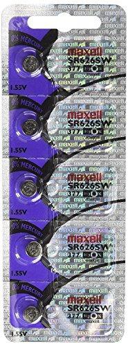 Maxell SR626SW 377 Silberoxid Uhrenbatterie Bundle Von 20