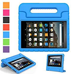 Fit Amazon Fire hd 8 2017 Release Tablet and (Universal 6th, 2016 Release)- Specially designed, Access to all features and controls. NOT fits other Amazon Tablet Constructed from impact-resistant EVA material, drop protection and impact-resistance sa...