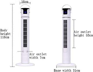 HZQ Torre de ventiladores para aplicaciones en múltiples escenarios, 45W 50Hz 3 velocidades 90 grados Gran angular Granero Inicio