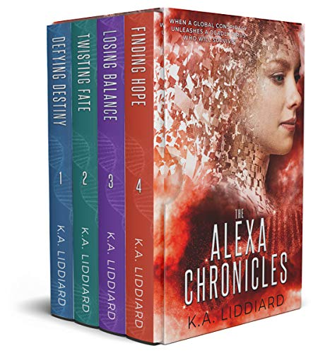 Alexa Chronicles: Complete boxset of romantic suspense thrillers (English Edition)