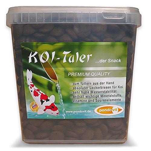 pondovit Koi-Taler Premiumsnack für Kois, Leckerbissen, 5 l