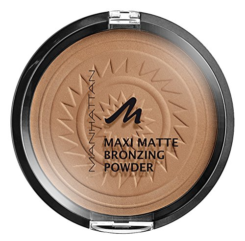 Manhattan Matte Maxi Bronzing Powder, 002, Brunette, 17 g