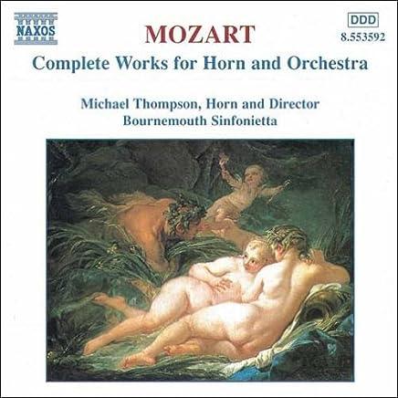モーツァルト:ホルンと管弦楽のための作品全集