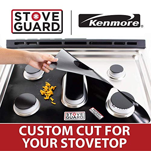 Kenmore Stove Protectors - Stove Top Protector for Kenmore Gas Ranges - Ultra Thin Easy Clean Stove Lir