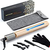 Best Chi Flat Irons - NITION Professional Salon Hair Straightener Argan Oil Tourmaline Review