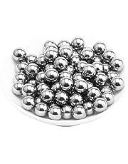 Matedepreso - Bolas de rodamiento de acero inoxidable, No nulo, como se muestra en la imagen, 3mm, 200pcs