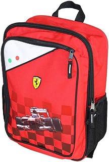 Zaino Tempo Libero Ferrari Mochila infantil, 38 cm, Rojo (Rosso)