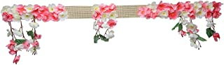 Christmas Decoration Artificial Cherry Blossom Flower Hanging Garland Door & Wall Decoration Toran , Door Hanging Bandanwa...