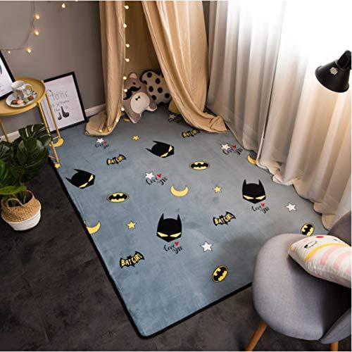 Tapis Tapis Tapis Chambre Bain Salle À Manger Salon Blanchisserie Couloir Pépinière Salon Enfants Cuisine Jardin Entrée Intérieur Dessins Animés Anime Batman