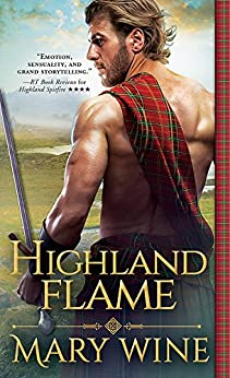 Highland Flame (Highland Weddings Book 4) by [Mary Wine]