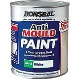 Ronseal AMPWM25L Anti Mould Paint White Matt 2.5 Litre