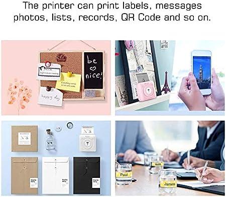 Paper Machine Rolls Pocket Printer Mini Photo Printer Received ...