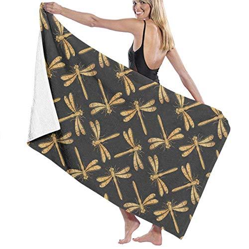 ZYWL Cute Cartoon Ferrets Absorbent Beach Towels Oversized Blanket for Gym Yoga Pool Bath Spa